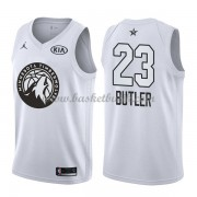 Minnesota Timberwolves Jimmy Butler 23# Vit 2018 All Star Game NBA Basketlinne..